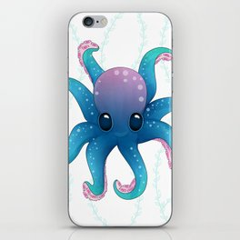 Octopus friend iPhone Skin