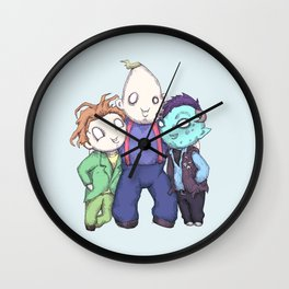 Fred, Sloth, Maurice  Wall Clock