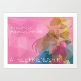 Zelda: True Friendship Art Print