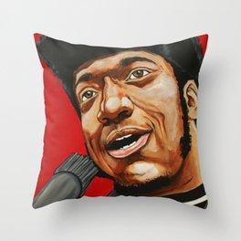"Fred Hampton ""The Black Messiah"" Throw Pillow"