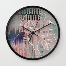 Monkey mind revolution Wall Clock