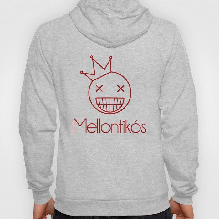 Red Mellontikós Logo Hoody