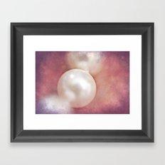 Vintage Pearl Framed Art Print