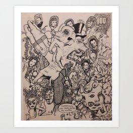 No Sleep Till Angerville! Art Print