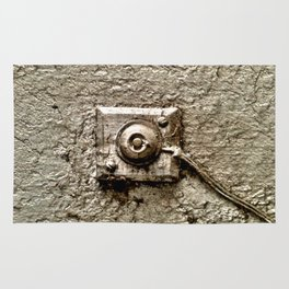 Vintage Doorbell Rug