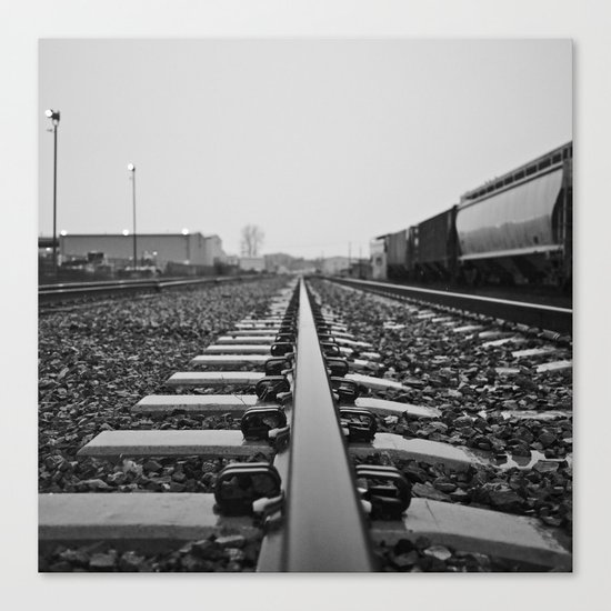 Industry rail Canvas Print