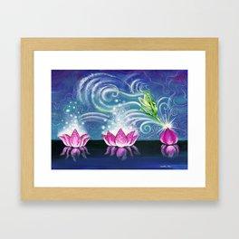 Pixie Dance Framed Art Print