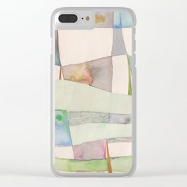 The Clothes Line Clear iPhone Case