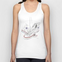 converse Tank Tops featuring Converse by Kenny Risk