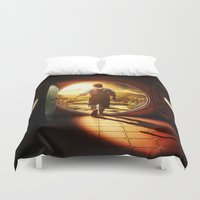 the lord of the rings Duvet Covers featuring THE LORD OF THE RINGS by September 9