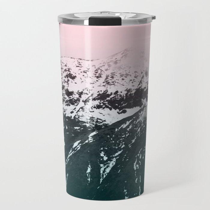 Mountains last forever Travel Mug