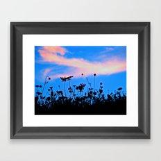 Dancing Under a Blue Sky Framed Art Print