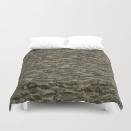 Fresh water fish camouflage Duvet Cover