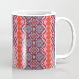 Summer splash - Coral and Blue Coffee Mug