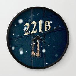 Victorian 221B Wall Clock