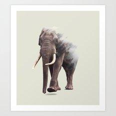 Elephantastic #society6 #decor #buyart Art Print