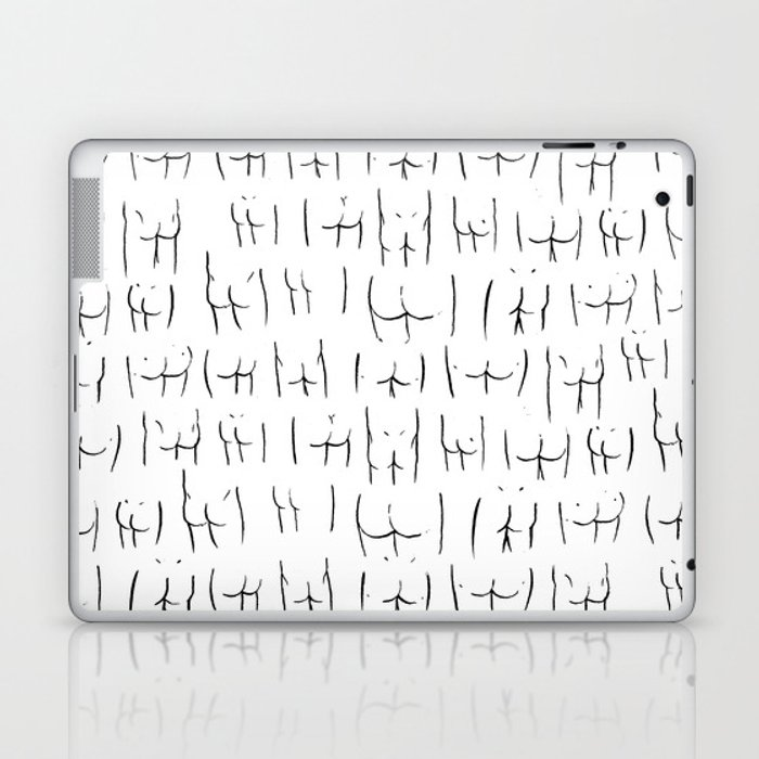 butts butts butts Laptop & iPad Skin