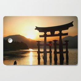 Itsukushima Shrine on Miyajima, Japan Cutting Board