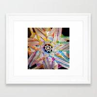 escher Framed Art Prints featuring Escher Star by Todd Huffine