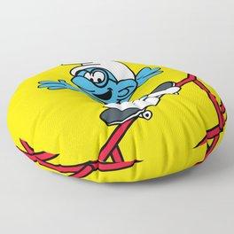 Fifty Smurf Floor Pillow