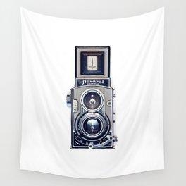 Vintage Camera Twin Lens Flexaret Wall Tapestry