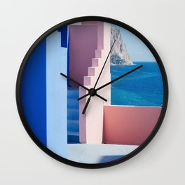 Colour architecture Wall Clock