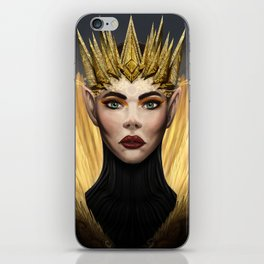 Elf Queen iPhone Skin