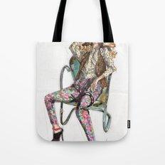 Floral Fashion Tote Bag