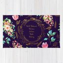 Well Behaved Women Seldom Make History - A Floral Feminist Print by annaleebeer