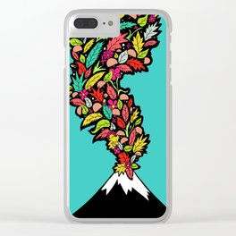 Volcanic Autumn Clear iPhone Case