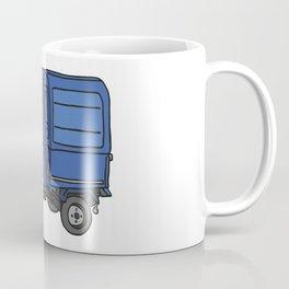Tricycle Van Threewheeler Transporter Coffee Mug