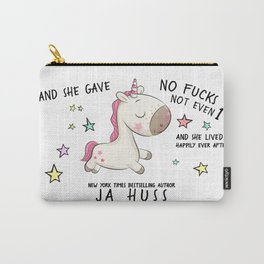 Unicorn Happily Ever After Carry-All Pouch