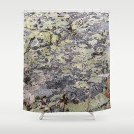 Camouflage texture Shower Curtain