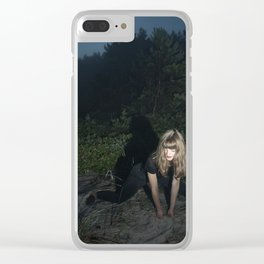 Slow Dancing Society Clear iPhone Case