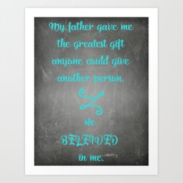 Fathers Art Print
