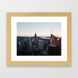 The, New York City Framed Art Print