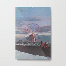 Sierra High Metal Print