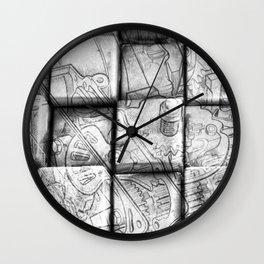 Cog Box Wall Clock
