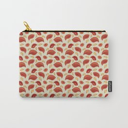 """Background abstract pattern """"Autumn leaves"""", vector, texture design. Carry-All Pouch"""