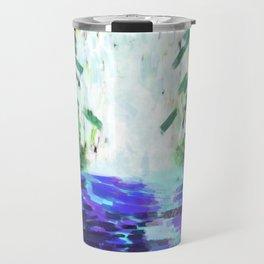 Waterfall in motion Travel Mug