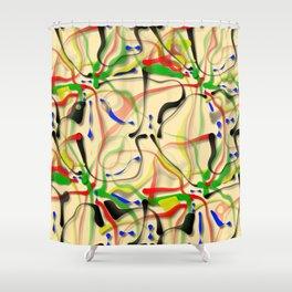 Helter-skelter, 2110s Shower Curtain