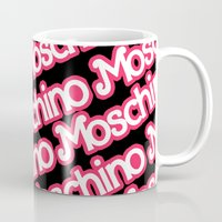 moschino Mugs featuring Moschino Everything Black by RickyRicardo787