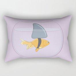 Goldfish Shark Rectangular Pillow
