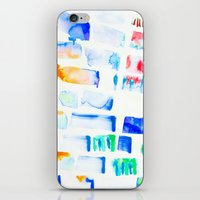stripe iPhone & iPod Skins featuring Stripe by Amy Sia