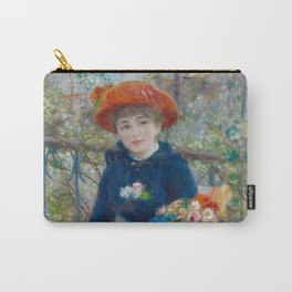 """Pierre Auguste Renoir """"Two Sisters"""" Carry-All Pouch"""