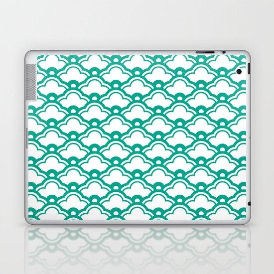 matsukata in emerald Laptop & iPad Skin