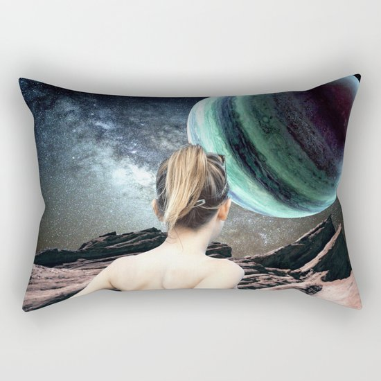 Why is it so beautiful? Rectangular Pillow