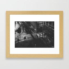 LightRail  Framed Art Print