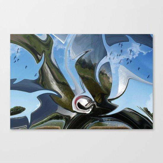 chromium 24 Canvas Print