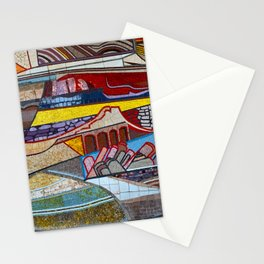 The Moasic Wall Stationery Cards